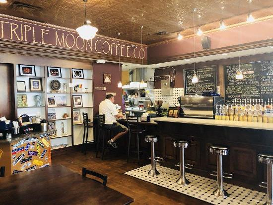 Menu At Triple Moon Coffee Cafe Middletown