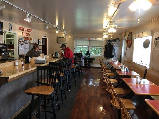 Menu At Mccullough S Kitchen Table Restaurant Sandy Lake