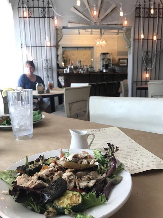 Menu At The Loft Cafe Mount Dora