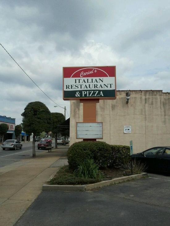 Menu At Carini S Italian Restaurant Roanoke Rapids