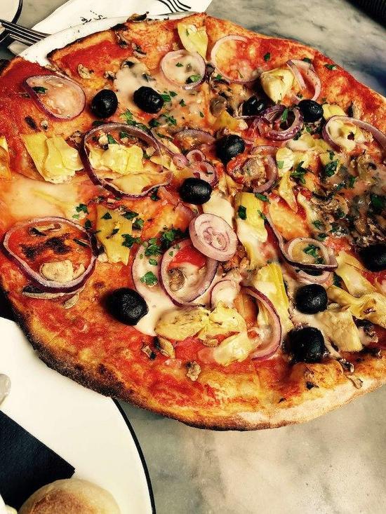 Menu At Pizza Express Pizzeria London 133 Baker St