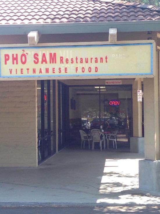 Menu At Pho Sam Restaurant San Ramon