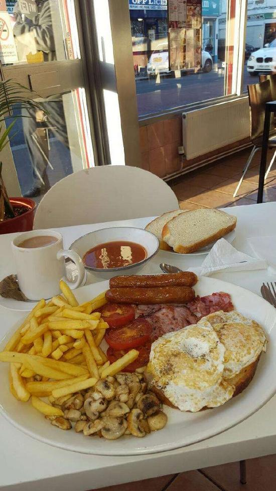 Bukkake semen virgin islands food at cafe roma