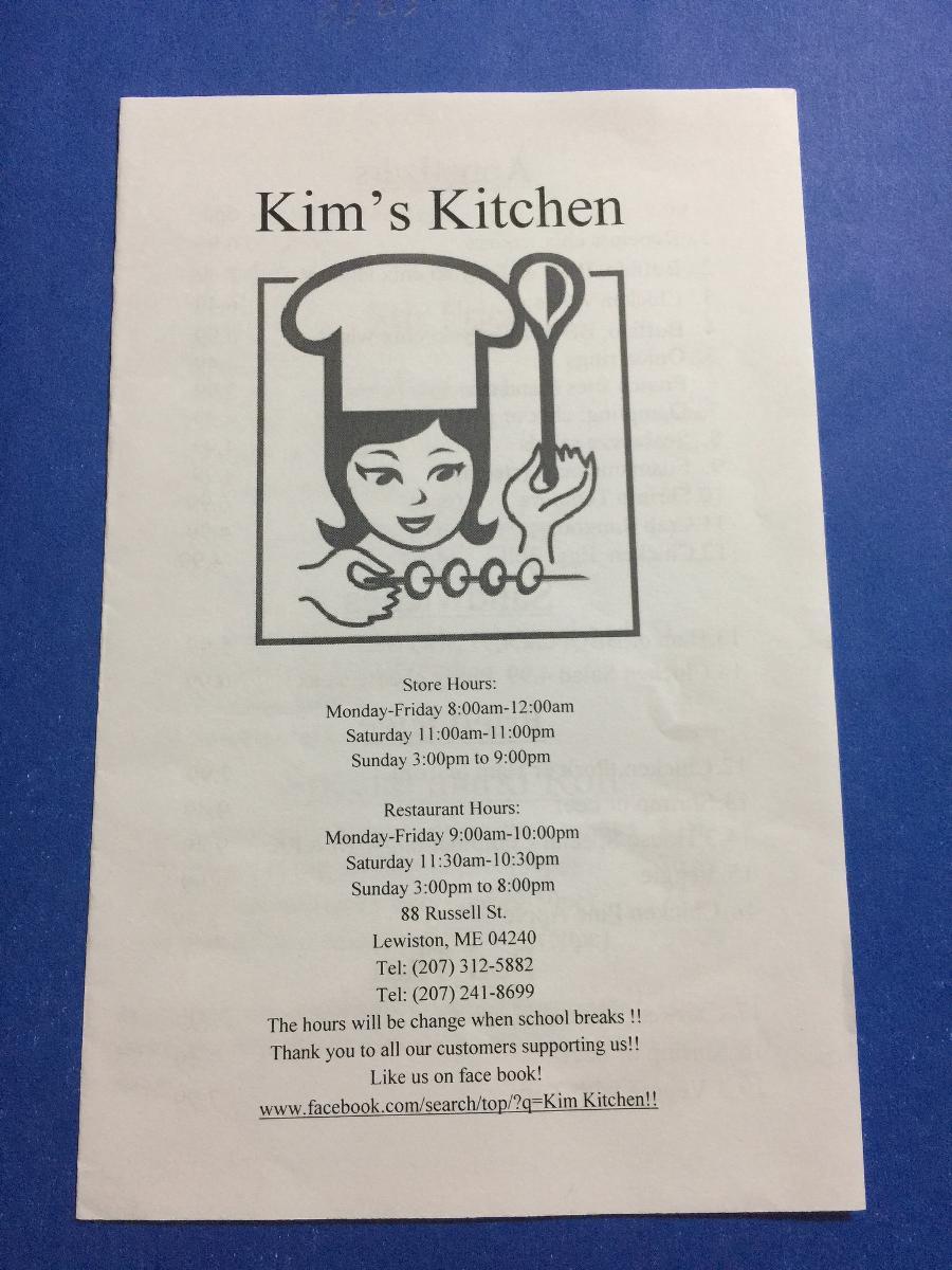 Kim S Kitchen In Lewiston Restaurant Reviews