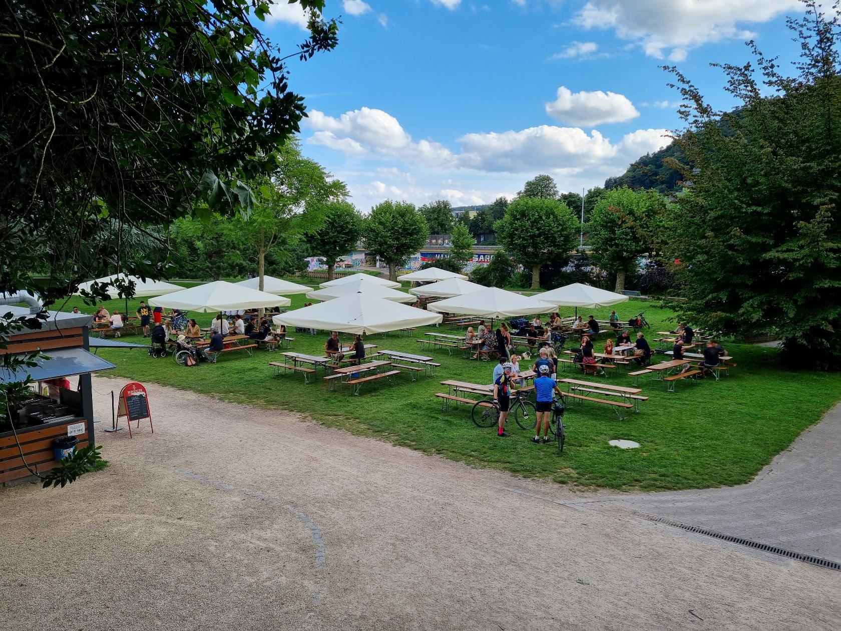 Ulanen-Pavillon Foto
