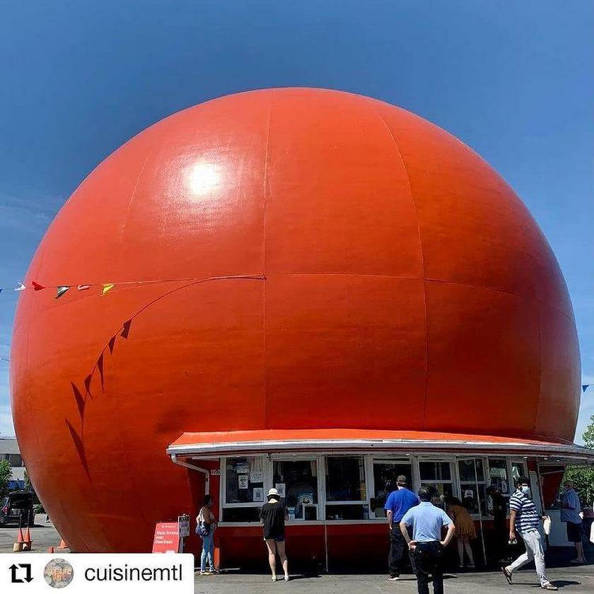 Orange Julep - un lieu incontournable de Montréal